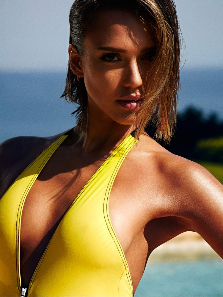 Джессика Альба (Jessica Alba) для журнала Shape Magazine