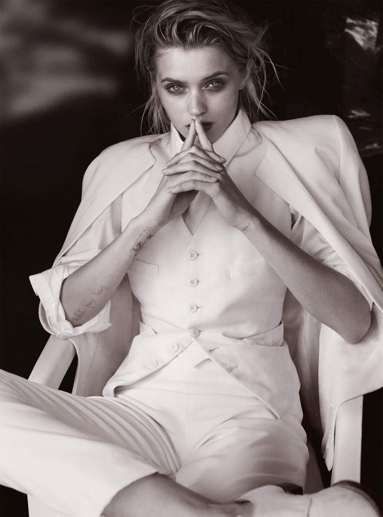 Эбби Ли Кершоу (Abbey Lee Kershaw) для журнала Vogue Australia