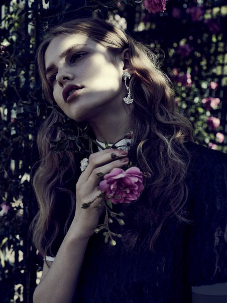 Aneta Pajak by Emma Tempest for Vogue Russia August