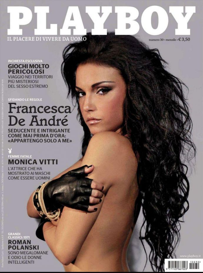 Богиня эротики Francesca De Andre - Playboy November 2011 (11-2011) Italy