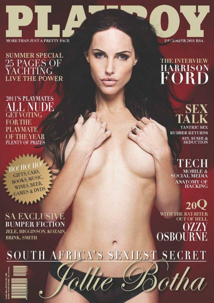 Модель дня Jollie Botha - Playboy December 2011 (12-2011) Africa