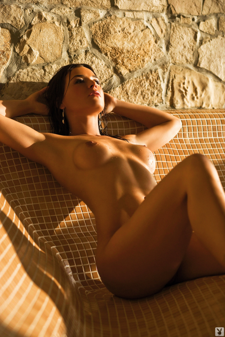 Lara Antonovic Nude From Playboy