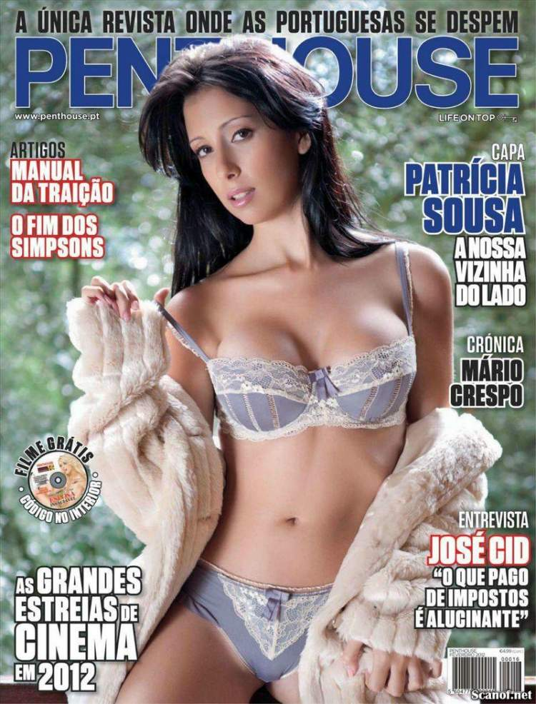 Сексуальная Patricia Sousa - Penthouse February 2012  Portugal